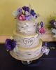 Wedding Cake with Birch Bark 