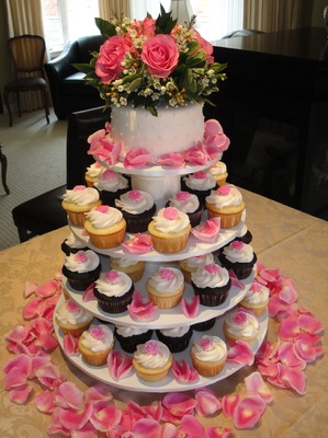Fancy Cupcakes & Cake